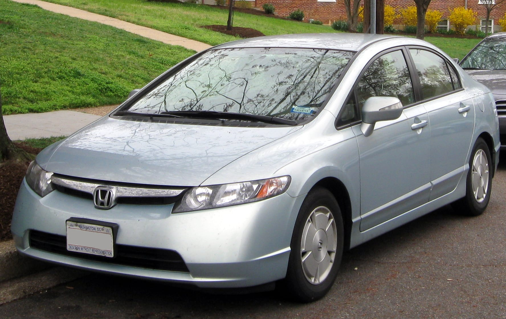 Used 2008 Honda Civic Hybrid Silver