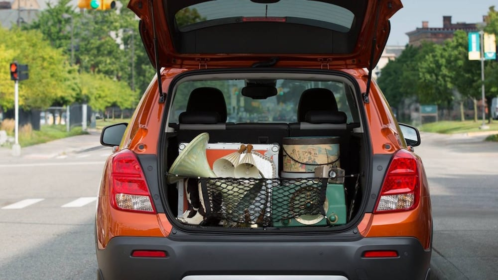 2016 Chevy Trax Trunk