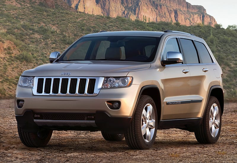 2010 Jeep Grand Cherokee (WK2); top car design rating and specifications
