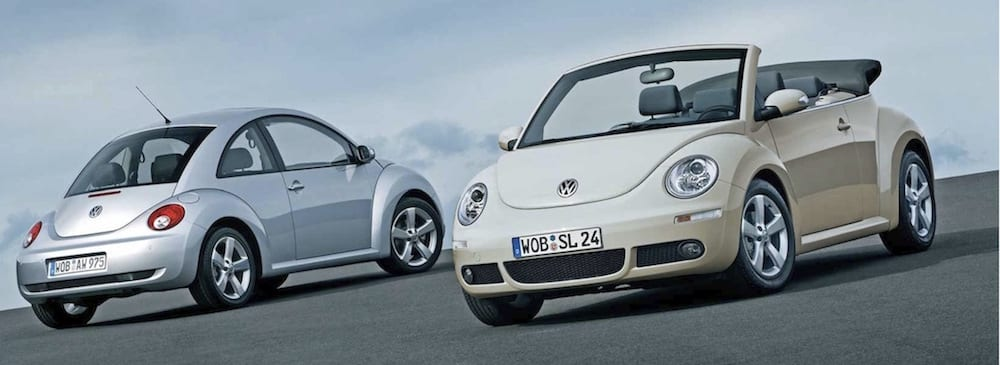 Used 2006 Volkswagon New Beetle White Silver