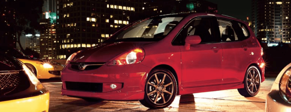 Used 2007 Honda Fit Red