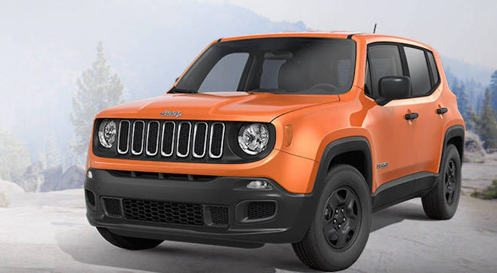 2016 Jeep Renegade Orange