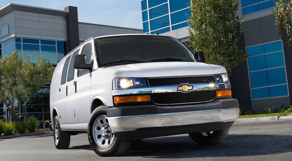 2014 Chevy Express Cargo Van - Perfect for Contractors