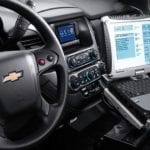 Chevy Tahoe Interior for Law Enforcement
