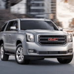 Silver 2018 GMC Yukon in City