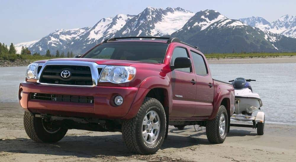 Going All the Way to Tacoma in a Used Toyota Truck