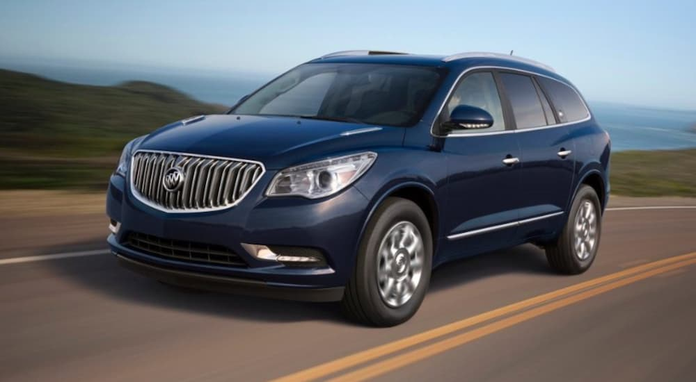 The Five Best Years for a Used Buick Enclave